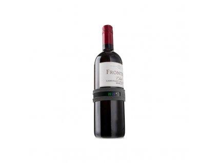 Teploměr na víno černý