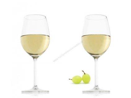 Sklenice na bílé víno - set 2 ks