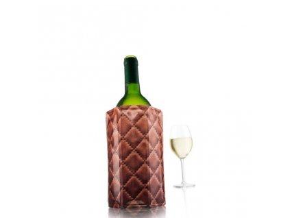 Chladící návlek na víno kůže
