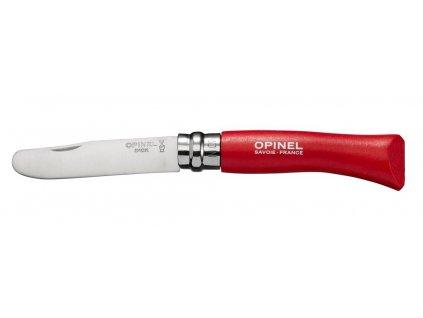 Zavírací nůž VRI N°07 My first Opinel Red 8 cm
