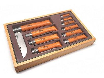 Zavírací nůž kolekce Carbon (10 ks.) 3,5 – 12 cm