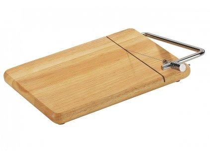 Dřevěné prkénko / kráječ na sýr 25 x 18 cm