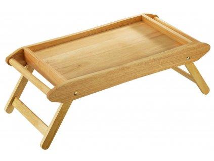 Dřevěný stolek do postele 69 x 35 cm