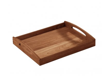 Servírovací tác hranatý z dřeva akátu 44 x 36 x 7 cm - Zassenhaus - 055535