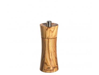 FRANKFURT - Mlýnek na sůl olivové dřevo 14 cm - Zassenhaus - 022414