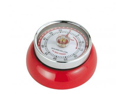 Kuchyňský časovač/minutník/minutka SPEED červený - Zassenhaus - 072327