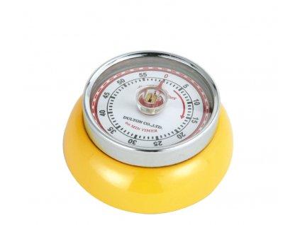 Kuchyňský časovač/minutník/minutka SPEED žlutý - Zassenhaus - 072341
