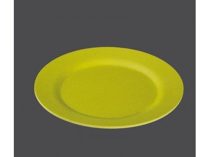 Bambusový talíř 25 cm, kiwi