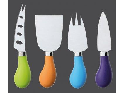Nože na sýr set 4 ks