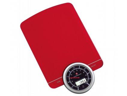 Digitální váha SPEED červená