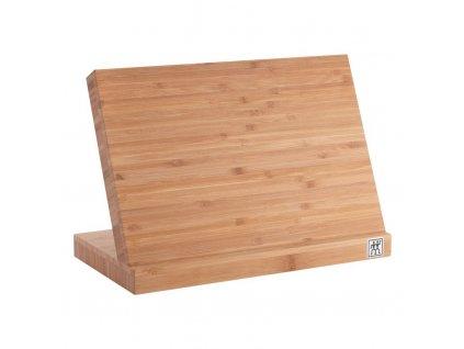 Magnetický blok na nože - na 5 ks, bambus