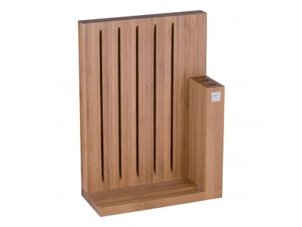 Magnetický blok na nože - na 7 ks, bambus