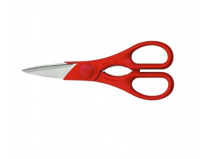 Nůžky víceúčelové TWIN Scheren 20 cm, červené