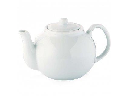 104158 Bílá porcelánová konvice na čaj 1,25 l od CILIO