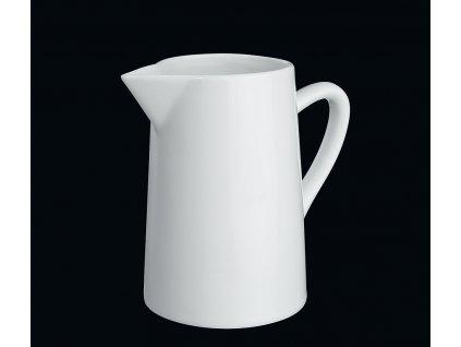 Bílý porcelánový džbánek/konvička 0,6 l