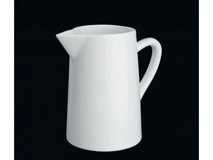Bílý porcelánový džbánek/konvička 0,4 l