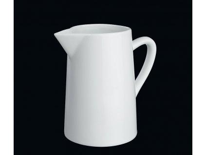 Bílý porcelánový džbánek/konvička 0,2 l