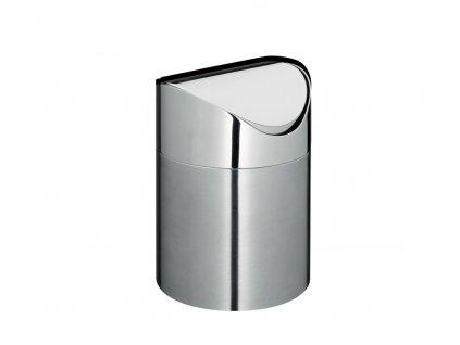 Stolní odpadkový koš SWING z nerezové oceli - Cilio - 300857