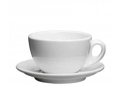 Porcelánový šálek na kávu ROMA bílý 200 ml