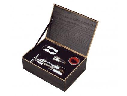 Dárkový set na víno TOSCANA 4 ks - Cilio - 301144