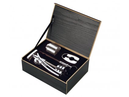 Dárkový set na víno TRENTINO 4 ks - Cilio - 301151
