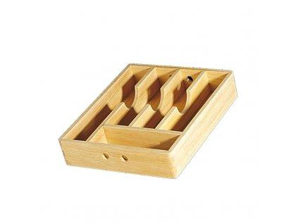 Zásobník na příbory dřevěný 30x35x7 cm - Cilio - 410006