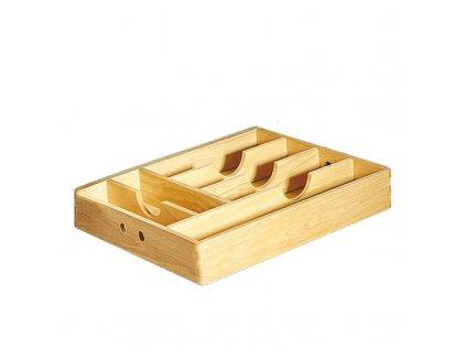 Zásobník na příbory dřevěný 34x43x7 cm - Cilio - 410013