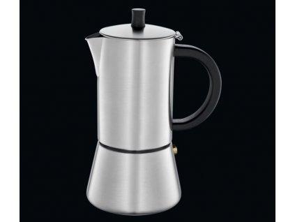 Kávovar espressa FIGARO satin na 4 šálky