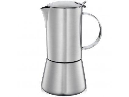 342901 Kávovar espressa AIDA satin na 4 šálky 200 ml od CILIO