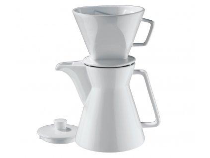 Konvička na kávu VIENNA s filtrem 1L