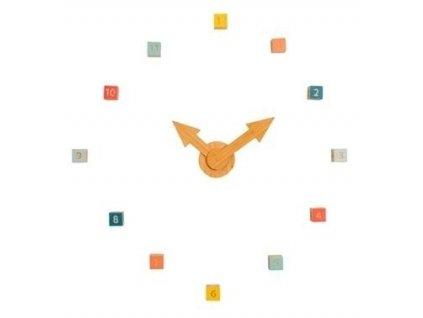 Designové skládací dřevěné hodiny JIP0858