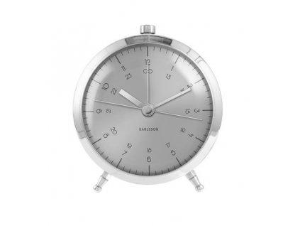 Designový budík KA5599SI 9cm