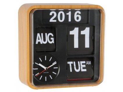 Designové nástěnné hodiny 5364OR 25 cm
