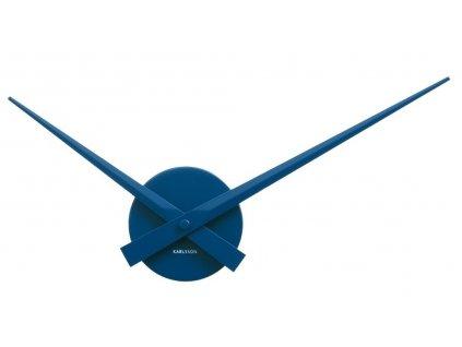 Designové nástěnné hodiny 4348BL 44cm