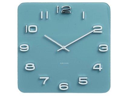 Designové nástěnné hodiny 5641BL 35cm