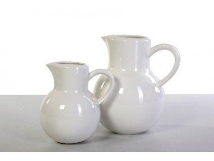 Bílý porcelánový džbán 0,75 l Cocina