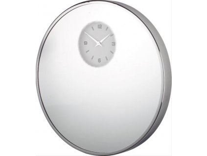 Designové nástěnné hodiny 22646 Mirror 45 cm