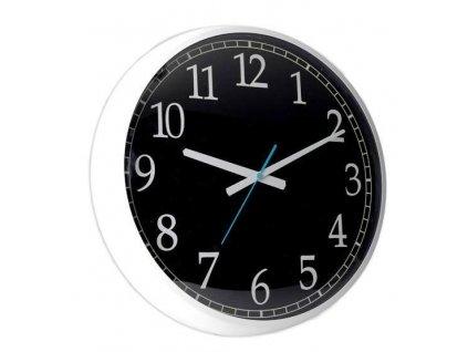 Designové nástěnné hodiny 24501 white/black 60 cm