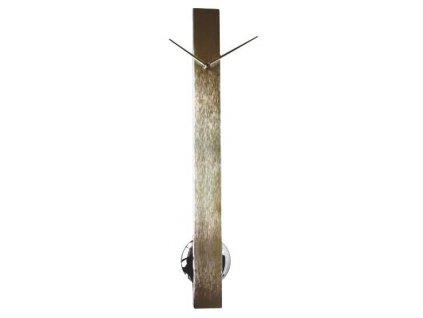Designové nástěnné hodiny 24928 Pendulum steel 65 cm