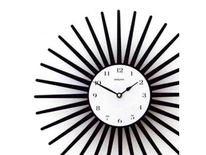 Designové nástěnné hodiny kovové 36 cm - 369
