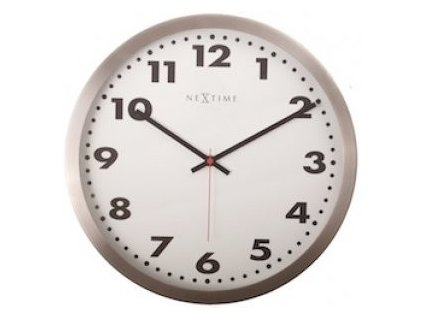 Nástěnné hodiny 45 cm ARABIC White