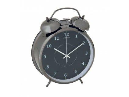 Stolní hodiny/budík 20 cm - WAKE UP 5113zw