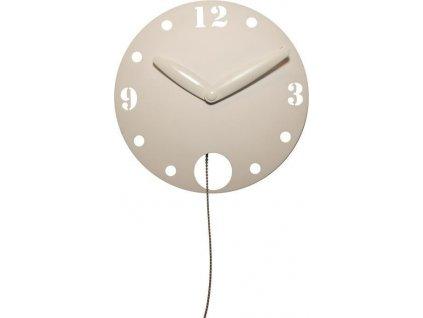 Designové nástěnné kyvadlové hodiny 3102 Waggle 60cm