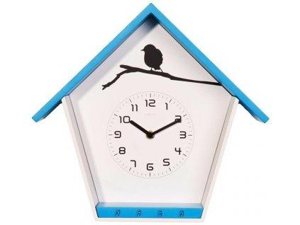 Designové nástěnné hodiny 3109bl Cuckey 33cm