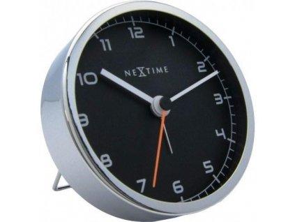 Designový stolní budík 5194zw Company Alarm 9cm