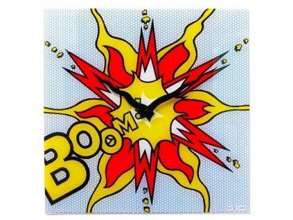 Designové nástěnné hodiny 8173 Boom 43cn