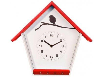 Designové nástěnné hodiny 3109ro Cuckey 33cm