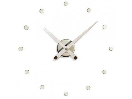 Luxusní nástěnné hodiny 50 cm RODON mini white