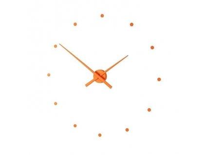Designové nástěnné hodiny OJ dýňové 80cm