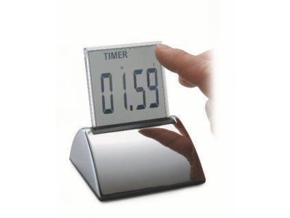 Hodiny/budík s datumem, stopkami a teploměrem - P205003